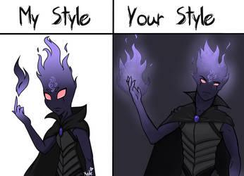 My Style Vs Your Style  Morgrim  Read Desc  By Kat by F3RYX