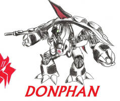DONPHAN by RyouKazehara
