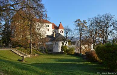 Velenje castle by PurebloodRose
