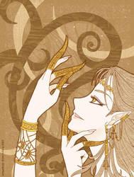 batik-art by shiroi-kishi
