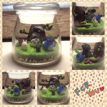 My Neighbor Totoro Jar by Brownie314