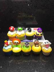 Mario cupcakes by Brownie314