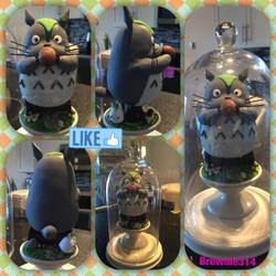 Totoro Large figurine by Brownie314