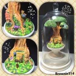 Winnie the Pooh's house by Brownie314