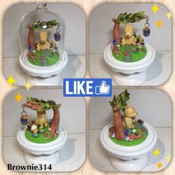 Winnie the Pooh figurine by Brownie314