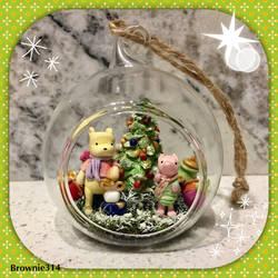 Winnie the Pooh Christmas ornament by Brownie314