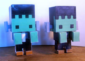 Pixtoyz custom - Frankenbyte (prototypes) by shadree