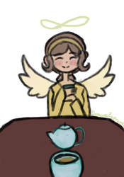 Tea with Angie by DepressoExpressoyslf