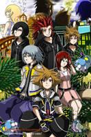 Kingdom Hearts by DarkMirrorEmo23