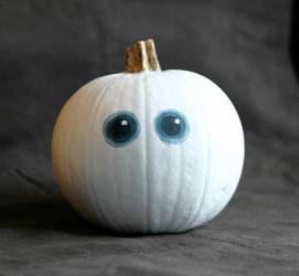 ghost pumpkin by disenchanted