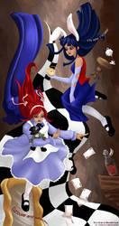 Kia-chan in Wonderland by disenchanted