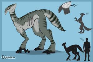 Alien Species Reference: Eg'grogem by Sunkaro