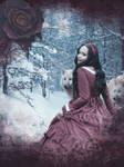Red Bloody Rose by Silinde-Ar-Feiniel
