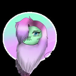 A vibrant gal by YammyYummy