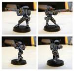 Tau Fire Warrior by Luftwaffles