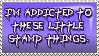 Stamp Addiction Stamp by Fullmetal-Phantom