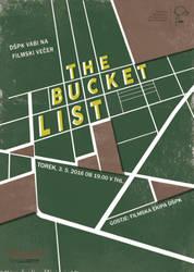 The Bucket List film poster by metkich