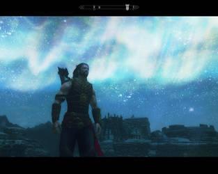 TESV - Skyrim (screenshot) by AngelGabryel