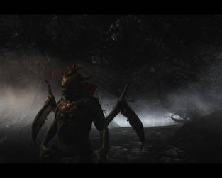 Skyrim - Vampire Lord by AngelGabryel