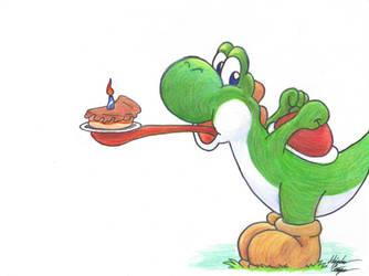 Yoshi Birthday by AnimeChunks