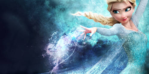 Elsa - FROZEN by RavenTheSilence