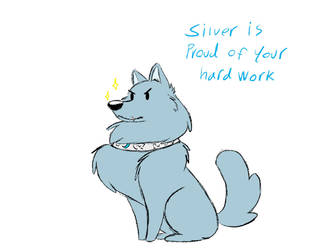 Silver knows you're doing your best by Frigg-Fluff