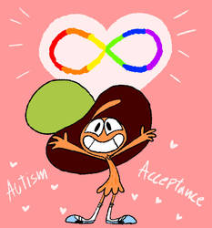 Wander loves and supports Autistic people by Frigg-Fluff