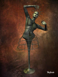 Ballerina 2675 A.D. by selficide