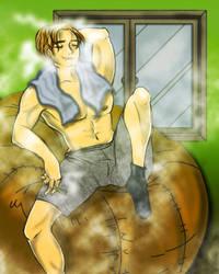 CHRIS unwinding by MakiMoonstone2706