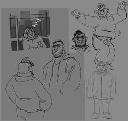 Sketch Batch: Ed by BadGobbo