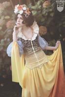 snow white - art nouveau by hannah alexander by leila1000