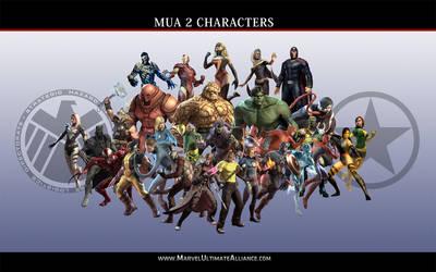MUA 2 - Character's Wallpaper by Serbius