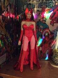 scarlet Witch finished 1/6 figure by somersetholmes