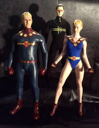 Miracleman Family 1/6 scale figures by somersetholmes