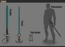 Warframe [Lagoi - Rapier Concept] by BlazingCobalt