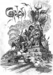 Conan's Trophy by SinkoSiete