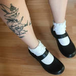 snufkin and little my tattoo by kidharpy
