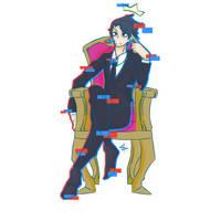 The Forgotten King    Markiplier (Darkiplier) by yukikaze-reiki