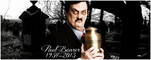 RIP Paul Bearer by LelouchVonHungaria
