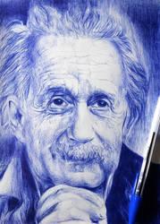 Albert Einstein by ogayar00