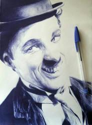 Charles Chaplin  by ogayar00