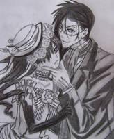 Sebastian and Ciel by Katay
