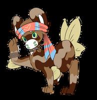 Minnow with uniform ribbon by RascalWabbit