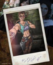 Tomb Raider Selfie by BoobyMistress