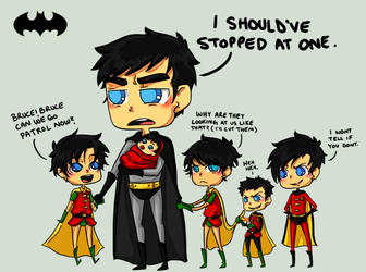 Batman- Dont have kids by rosey-so-silly