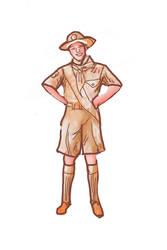 Boy scouts I by Heathcliffe1000
