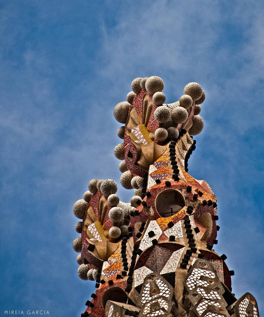 Sagrada familia tower by trencapins