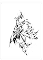 Sea dragon God scale by pablorivero