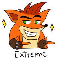 EXTREME (Crash Bandicoot Meme) by Scorpion-Ermac-MK