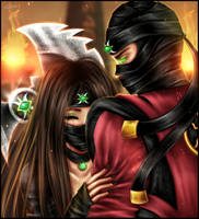 I couldn't forget you by Scorpion-Ermac-MK